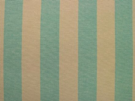 Prestigious Textiles Aqua & Calico Ticking Curtain /Upholstery Fabric